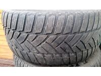 245 40 18 Dunlop Tyres Part Worn (Will fit Bmw, Mercedes ect)