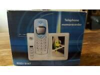 Telephone memorecorder new in box