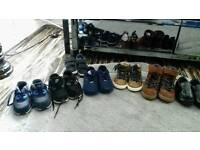 boys nike adidas and next trainers and shoes size 5 and 6