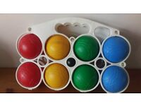 Multi-coloured Boules Set