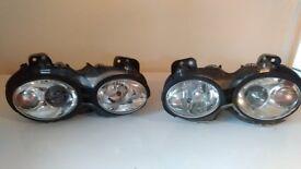 2003 Jaguar x type headlights