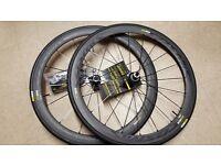 Mavic Cosmic Carbon C40 road race wheels