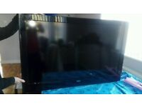 """48"""" LCD tv BUILTIN freeview hdmi ports with remote can deliver"""