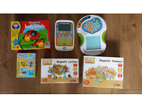 Vtech & Leapfrog Electronic Games , Magnetic letters & Numbers & Ladybird Game
