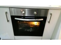 Single cooker oven . Essential range