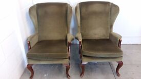 Pair of Parker Knoll armchairs Matching pair