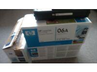 HP 06A. C3906A Original toner cartridges. New and unused
