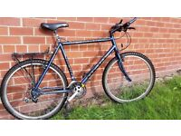 Medium/Large Lightweight Raleigh Bike with Pannier Rack - Ideal for Commuting