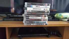 Ps3 with 10 games £80