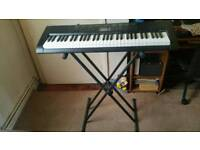 CASIO CK-1100 KEYBOARD with stand