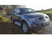 2008 MITSUBISHI L200 Pickup ANIMAL DI-D D/C