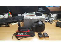 Canon Eos 7D and Nifty 50