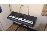 Yamaha Portasound PSS-680 Yamaha keyboard with stand - Retro