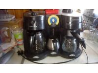 Morphy richards mulit function coffee machine filter expresso milk frother & free coffee