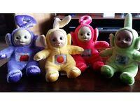 Teletubbies plush soft toys