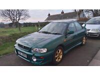 Subaru Impreza AWD Sport, 2001, Full MOT, good winter car, del to Yorkshire possible
