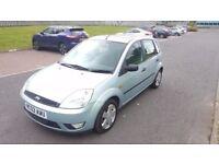 2003 Ford Fiesta Zetec 1.4 Petrol 5 Door 6 Month MOT Alloy Wheels Sunroof....