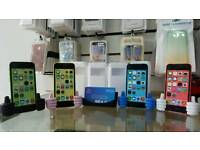 Uk Stock Orignal Apple iPhone 5C-8GB-White,Pink(Unlocked)Brand New With Warranty