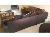 Corner sofa mint condition