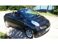 2007 nissan micra urbis C&C convertible with only 69000 miles.kj07fmj
