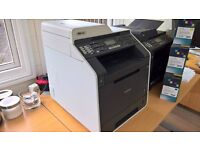 BROTHER MFC 9465CDN - Office LASER all in one -Colour Priner, Scanner, Fax. With Laser cartridges