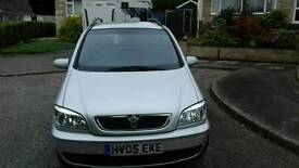 Vauxhall zafira breeze dti 7 seater