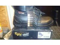 Brand new safety boots.