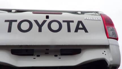 Toyota Hilux SR Dual Cab 2017 Tub
