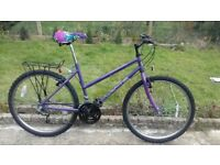 LADIES WOMEN ADULTS ATLANTIS 26 INCH WHEELS 18 INCH FRAME 18 SPEED BIKE BICYCLE