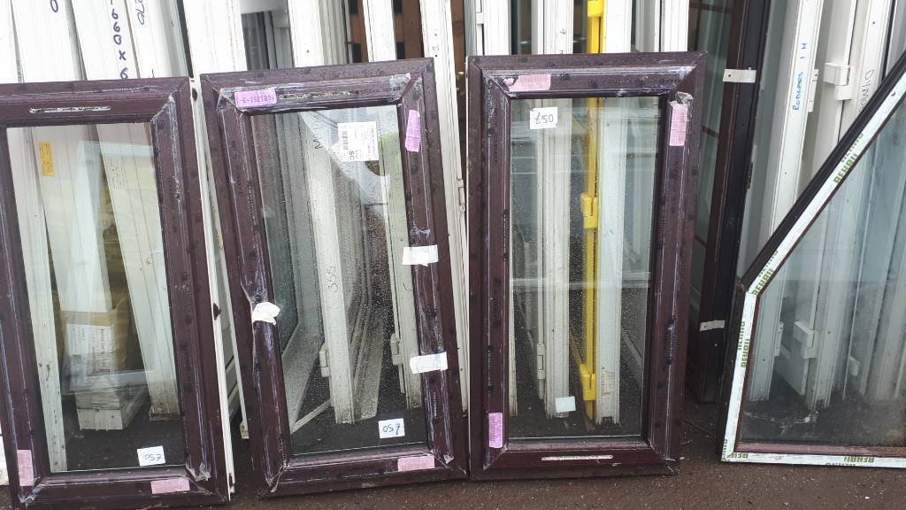 Upvc Windows rosewood 3 this size number 33