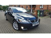 Lexus IS 220d 2.2 4dr 2008 FULL LEXUS HISTORY+1 DR OWNR FRM NW+AUX 6 SPEED