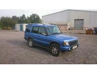 Land-rover Discovery Td5 03 plate