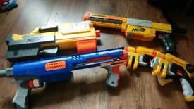 Kids toy nerf guns