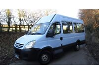 2009/59 IVECO DAILY 35S12 MWB HIGH TOP 13 SEATER MINIBUS DIESEL ONLY 32,000 MILES CAMPER CONVERSION