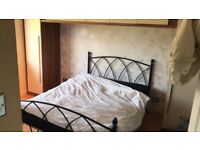 Black Double Bed Frame