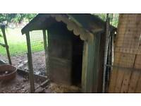 Large chicken coup or shed