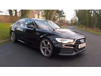 "2013 AUDI A6 3.0 TDI S-LINE AUTOMATIC, LEATHER, NAV, 20"" ALLOYS, FSH"