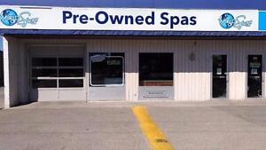 World of Spas- Pre Owned Spas- Located 3 Blocks East of Chinook Mall- Prices start at $500