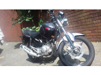 YAMAHA YBR 125cc Only 5400 Milliage