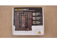 Behringer NOX 101 2 channel mixer