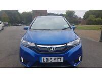 2016 Honda jazz automatic 1.3 vtec CVT petrol cheapest newshape auto in uk