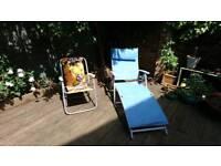 Garden chair and recliner