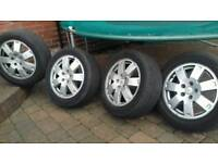 For mondeo/transit connect alloy wheels