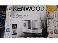 Kenwood Food Processor FP120 400W