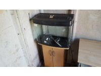 64 litre fish tank and stand £50 ono
