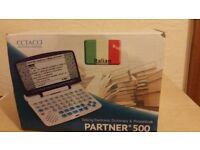 Ectaco EI500 Partner English-Italian Talking Electronic Dictionary