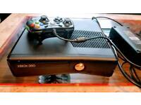 XBOX 360 WITH 20 GAMES & CONTROLLER