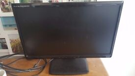 50cm wide, flat monitor screen and keyboard, excellent condition