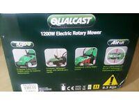 Qualcast 1200w electric rotary mower
