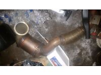 Genuine VW Golf R mk7 downpipe with catl;ytic converter